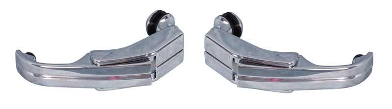 68-70 B-body Quarter Glass Latch Assembly Pair