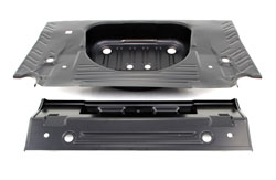 Trunk Floor - Full OE Style - 66-67 Dodge Plymouth B-Body