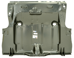 Trunk Floor Pan - OE Style w/ Braces