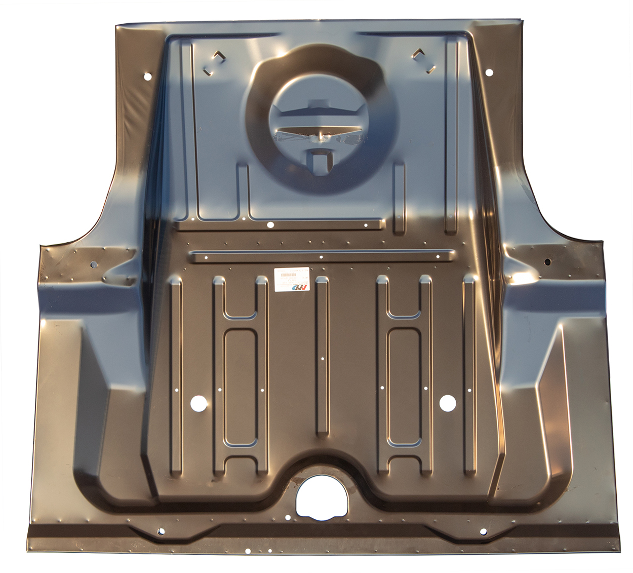 Trunk Floor - OE Style w/ Braces - 61-63 Ford Galaxie; Mercury Monterey