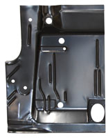 Trunk Floor Half - LH - 70 Barracuda