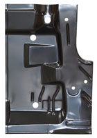 Trunk Floor Half - RH - 70 Barracuda