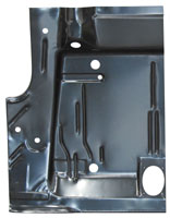 Trunk Floor Half - LH - 71-74 Barracuda