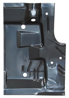 Trunk Floor Half - RH - 71-74 Barracuda