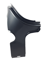 Trunk Gutter Side Brace - LH - 70-72 Nova