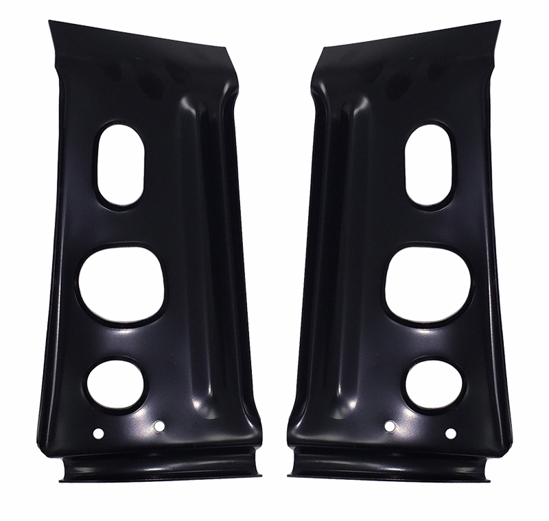 Taillight Panel Braces (2pcs) - 67 Chevelle