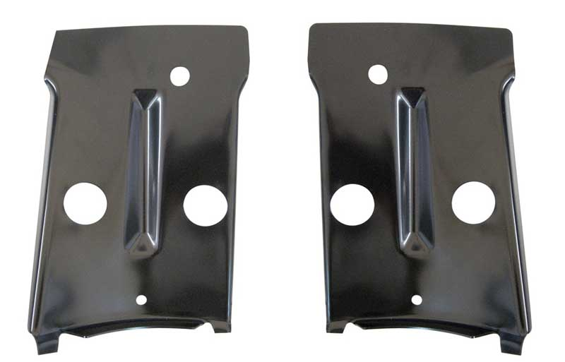 Taillight Panel Inner Braces (2pcs) - 68-69 Chevelle