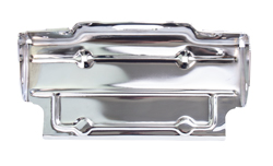 Rear License Plate Bracket - Chrome - 67-87 Chevy GMC Truck; 69-91 Blazer Jimmy Suburban