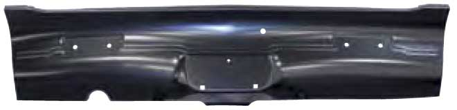 Rear Valance without Exhaust Tip Cutouts - 68-69 Barracuda