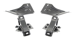 Rear Bumper Bracket Set - Inner & Outer (4pcs) - 68-69 Fairlane Torino