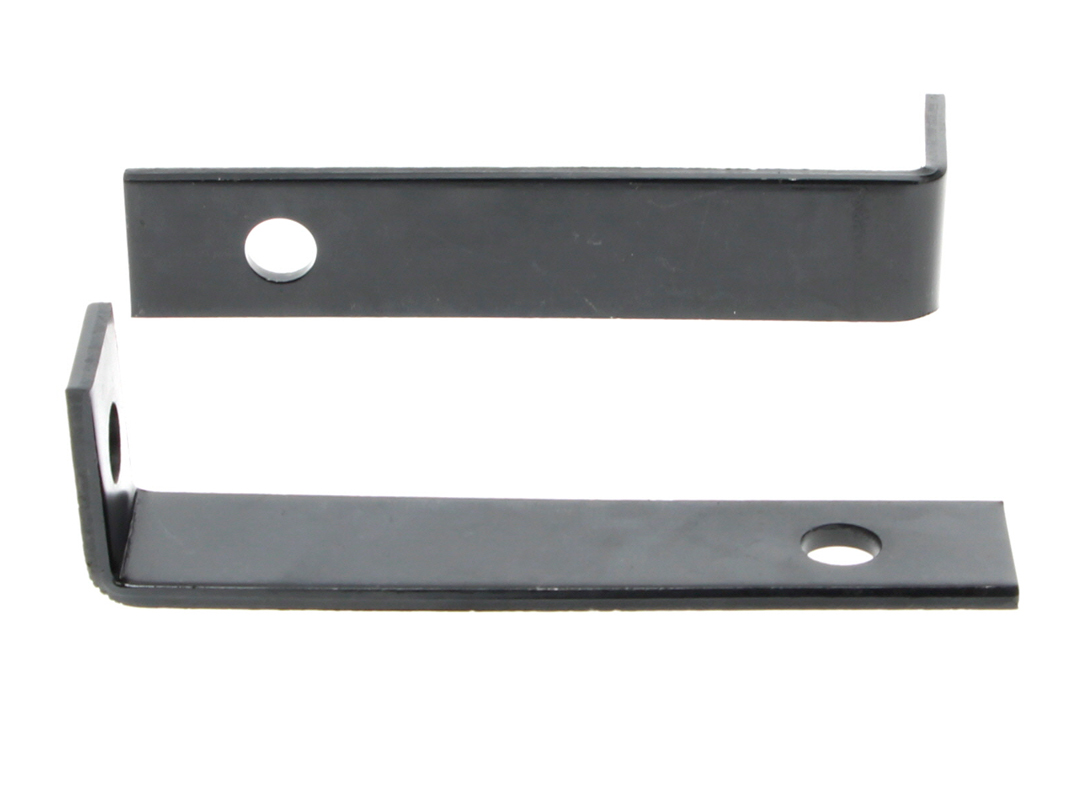 Rear Bumper Guard Brackets  - For Standard/Bumperette Style - LH or RH Pair - 67-68 Camaro