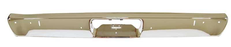 Rear Bumper with Jack Slots - 71-72 Duster Demon