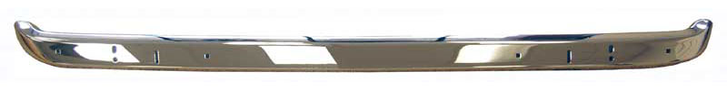 Rear Bumper with Jack Slots - 71-72 Barracuda