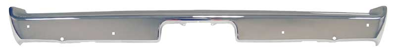 Rear Bumper without Jack Slots - 70-71 Challenger