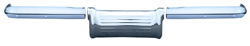 Rear Bumper (3pcs) - 60 Bel Air, Biscayne, Impala