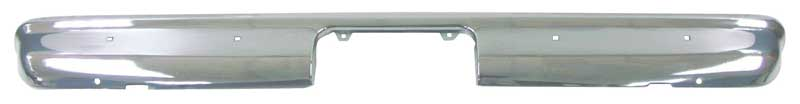 Rear Bumper - 67-72 Chevy GMC Truck Fleetside Bed; 67-72 Suburban; 69-72 Blazer Jimmy