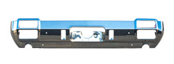 Rear Bumper w/ Exhaust Tip Cutouts - 71-72 Cutlass