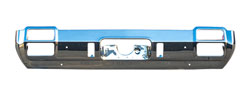 Rear Bumper w/o Exhaust Tip Cutouts - 71-72 Cutlass