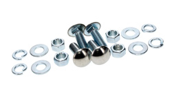 Rear Bumper Bolt Kit (12pcs) - 67-72 Chevy GMC C/K Pickup Suburban; 69-72 Blazer; 70-72 Jimmy