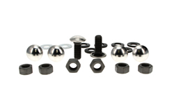 Rear Bumper Bolt Kit (20pcs) - 64-79 F100 F150 F250 F350 Styleside Pickup; 78-79 Bronco (w/o Step Bumper)