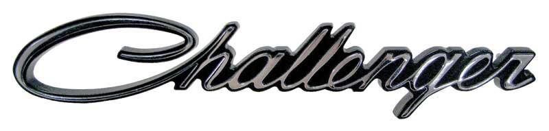 70 Challenger Grille Emblem challenger