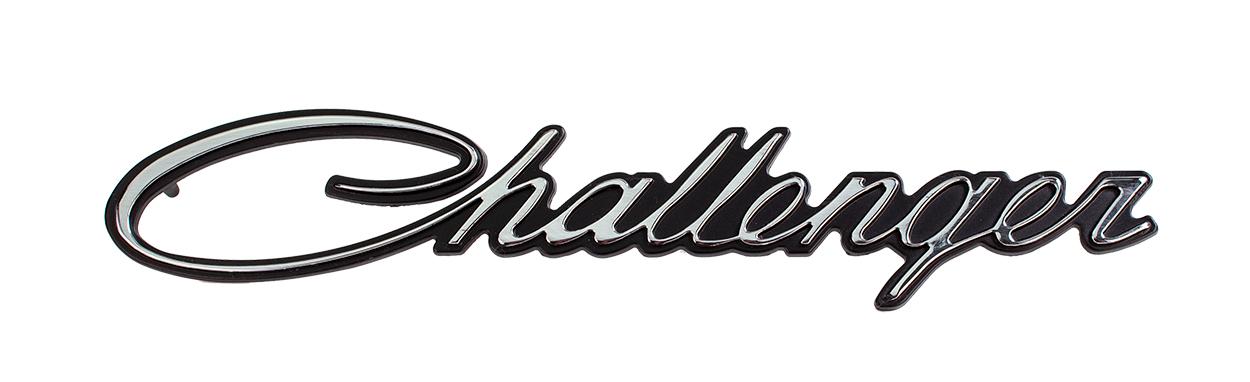 70 Challenger Fender Emblem challenger