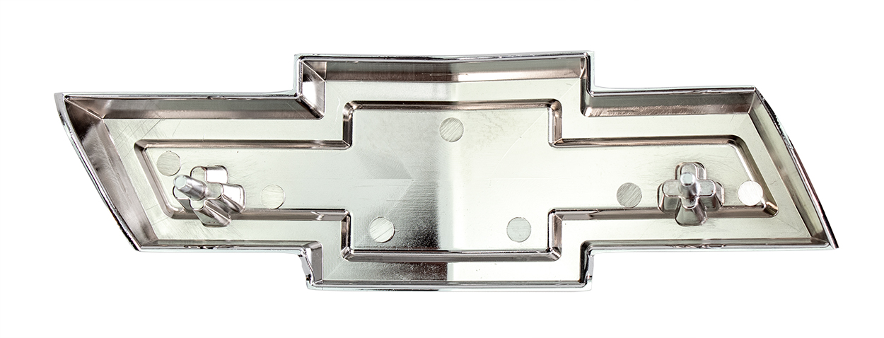 "Grille Emblem - ""Bowtie\"" - Red - 67-68 Chevy Truck Suburban"