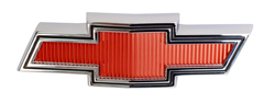 "Grille Emblem - ""Bowtie"" - Red - 67-68 Chevy Truck Suburban"