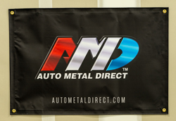 Auto Metal Direct Logo Banner 3x2