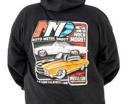 AMD GM Car Hoodie - Small
