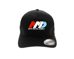 Auto Metal Direct - Black - Flexfit Mesh Back Cap - M / L