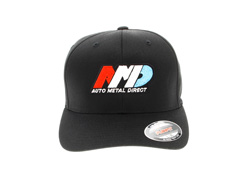 Auto Metal Direct - Black - Flexfit Mesh Back Cap - L / XL