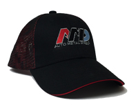AMD Mesh Baseball Cap - Black / Red