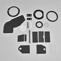 Basic Heater Box Foam Restoration Kit - 67-72 Dodge Plymouth A-Body without A/C