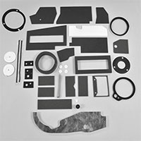 Basic Heater Box Foam Restoration Kit - 67-72 Dodge Plymouth A-Body with A/C
