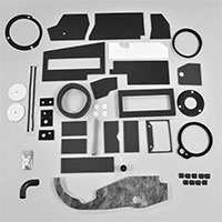 Big Heater Box Foam Restoration Kit - 67-72 Dodge Plymouth A-Body with A/C