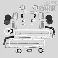Paint Gasket Set - 70 Charger