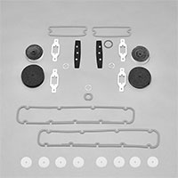 Paint Gasket Set - 72 Charger; Charger SE