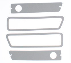 Side Marker Lens Gaskets - 70-71 Dodge Dart