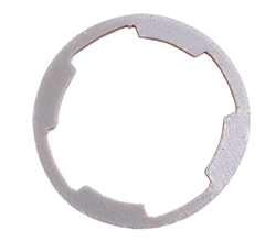 Lock Gasket - 66-76 Dodge Plymouth Door and 62-72 Trunk