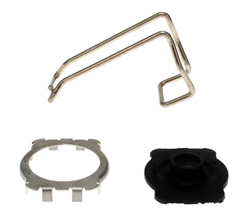 Steering Coupler Cover, Clamp & Seal Kit - Dodge Plymouth 73-76 A-Body; 73-74 B & E-Body