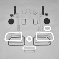 Paint Gasket Set - 71 Barracuda