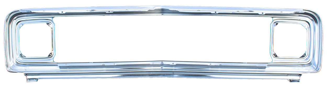 Grille Shell - Anodized Aluminum - 71-72 Chevy C/K Truck, Blazer, Suburban