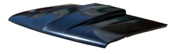 "Hood - 2"" Raised Straight Cowl - 88-98 Chevy GMC C/K Pickup; 92-94 Blazer Jimmy; 95-99 Tahoe Yukon; 92-99 Suburban"