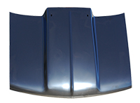 "Hood - 4"" Raised Straight Cowl - 94-04 Chevy GMC S10 Pickup Sonoma; 95-04 S10 Blazer S15 Jimmy"