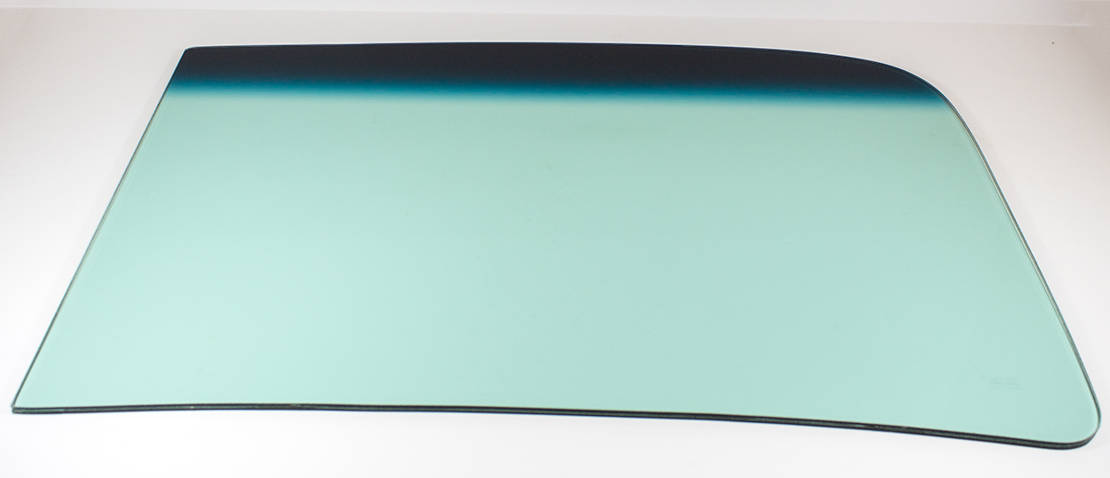 Windshield with Tint Band - Green Tint - LH or RH (Sold as Each) - 47-53 Chevy GMC Truck