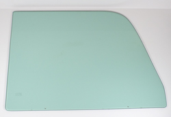 Door Glass - Green Tint - LH or RH - 64-66 Chevy GMC Truck