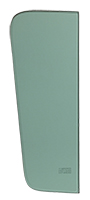 Vent Glass - Green Tint - LH or RH - 55-59 Chevy GMC Truck ('55 2nd Series)