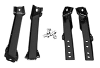 Rear Bumper Bracket Set - 63-66 Chevy GMC Truck Fleetside