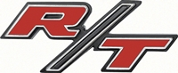 "Rear Body Emblem - ""R/T"" - 69 Charger"